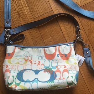 Coach Butterfly Optic Convertible Crossbody Purse